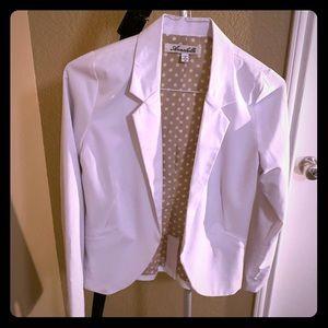 Jackets & Blazers - White blazer!